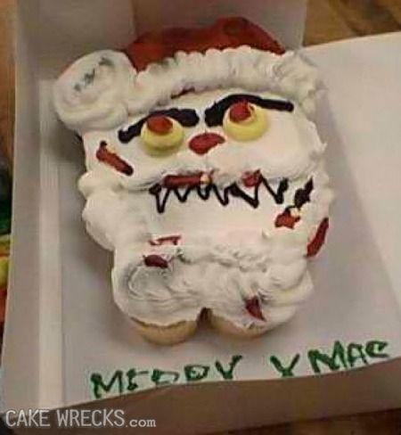Bilderesultat for wtf christmas cakes