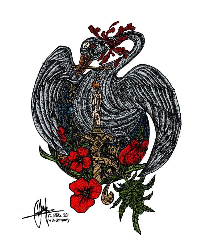 minorya_art I will create hand drawn unique logo design