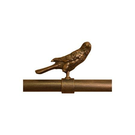 Iron Art By Orion Movable Bird Finial 1 1 2 Inch Diameter Iron