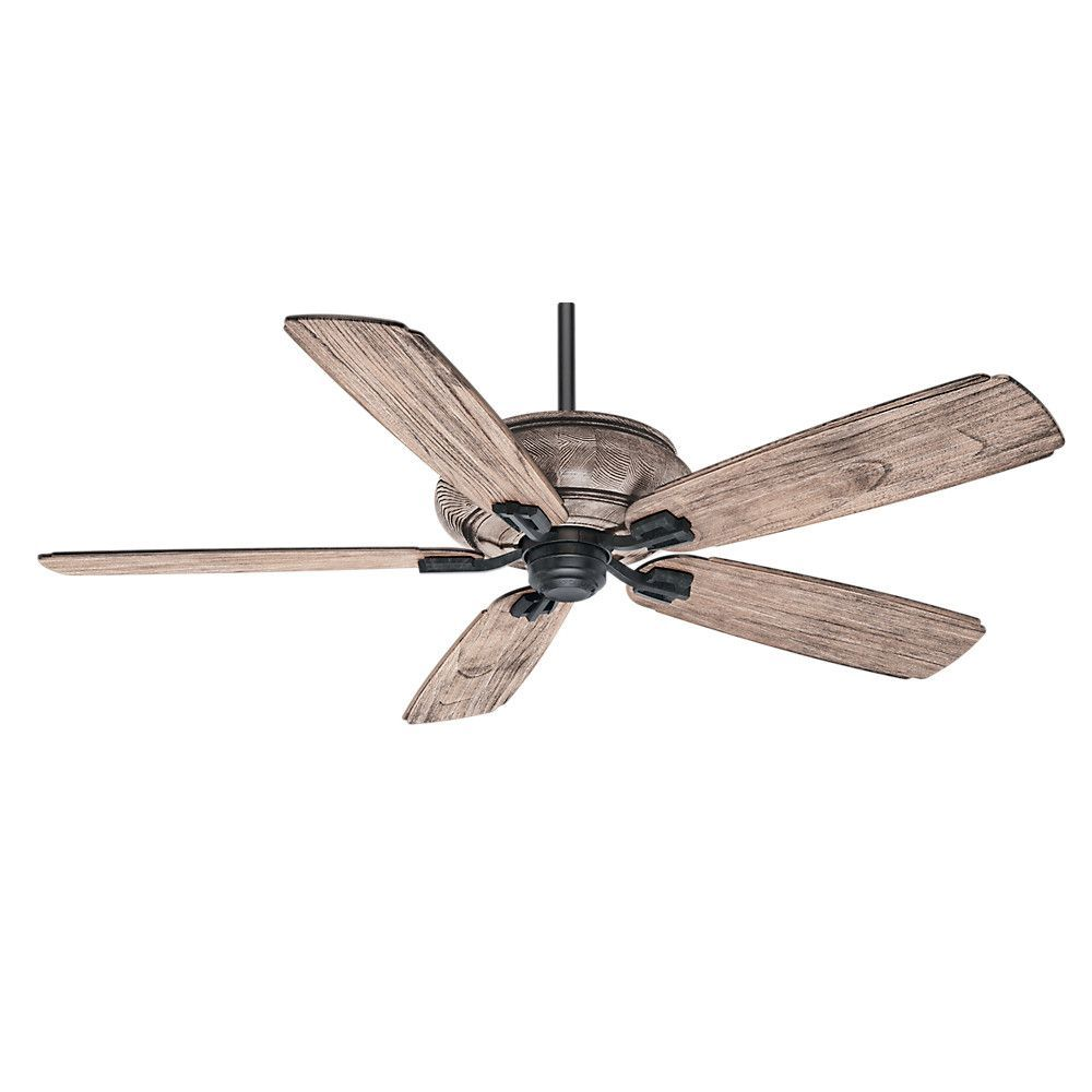 "60"" Heathridge 5 Blade Standard Ceiling Fan with Wall"