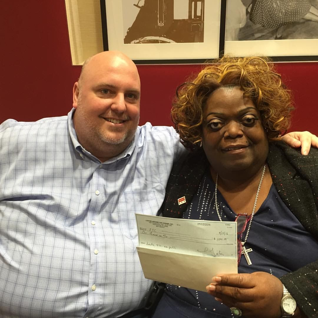 Earline Budd and I are opened the ETC bank account with a generous $1,000 donation from Jonathan Dailey.  We are on our way!  Coming soon: empowertransdc.org