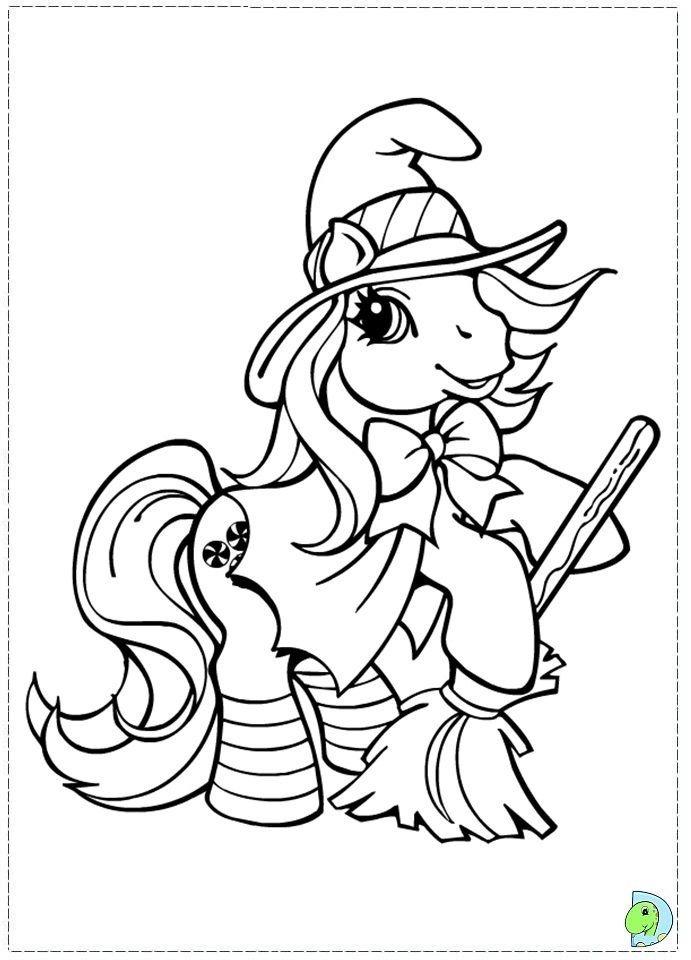 Coloring page | Unicorn coloring pages, My little pony ...