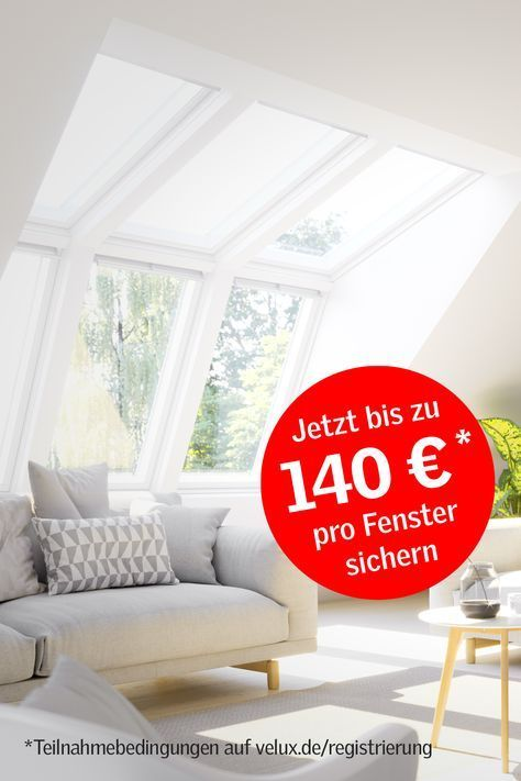 Photo of Exchange roof windows for more light, air & life. Now VELUX
