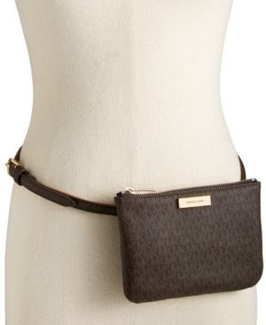 fd1ef924e7f14f Michael Michael Kors Signature Fanny Pack, A Macy's Exclusive Style - Brown