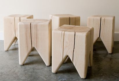 Great Green Gifts For The Home STUMP CHAIRS   $85 U2013 Green Holiday Gift Guide