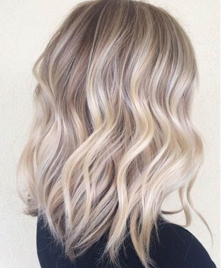 Ombre Suave Color Rubio Ceniza Hair To Try Pinterest Hair