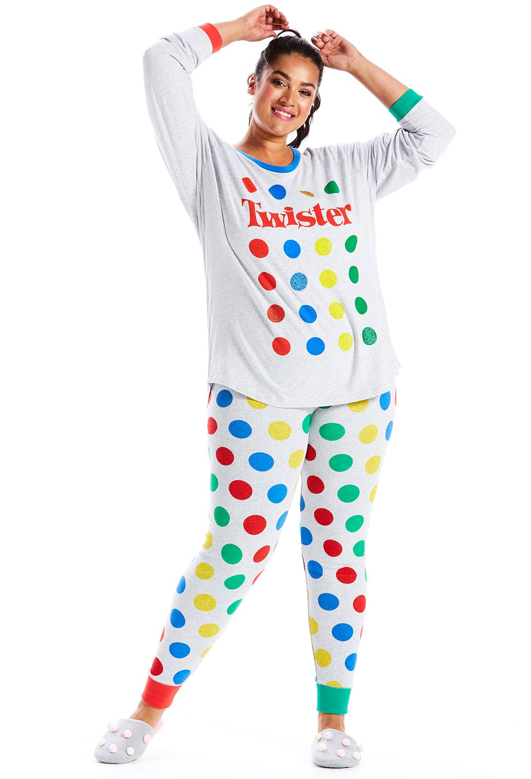 995615c737a33 Image for P.A. Plus Twister Pj Set from Peter Alexander | Plus Size ...