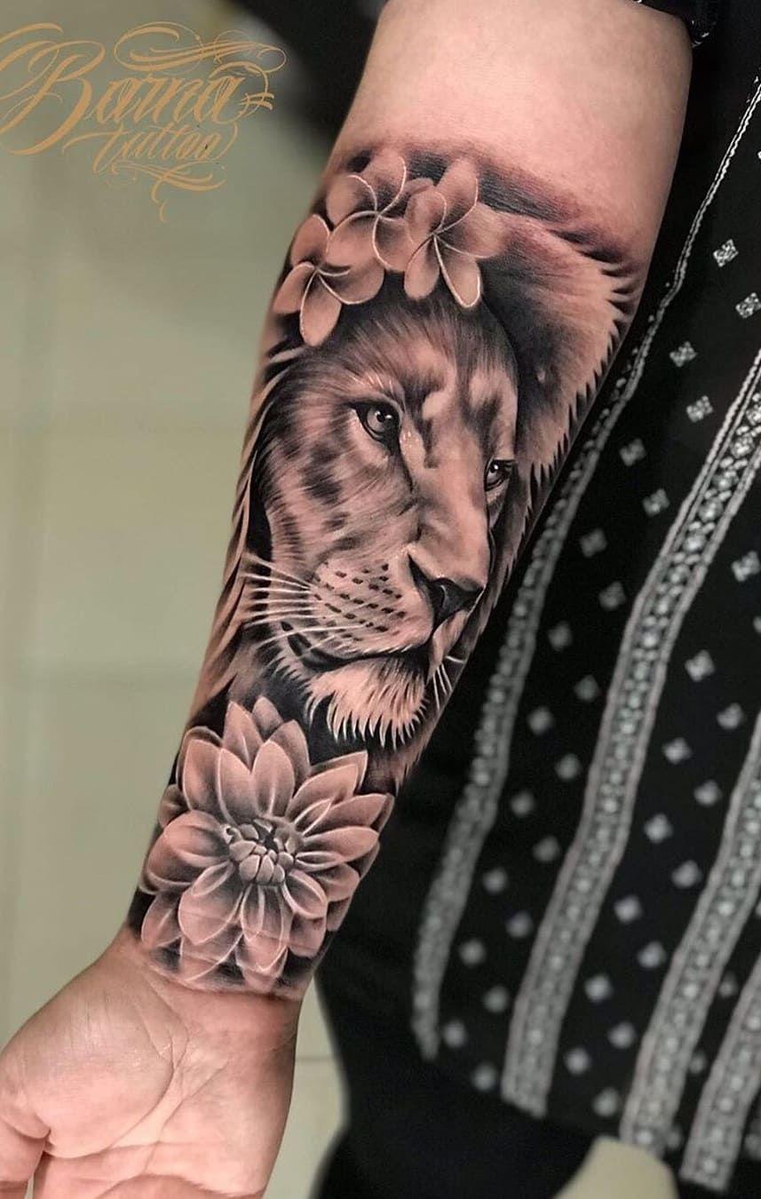 As 70 Melhores Tatuagens De Leao Da Int In 2020 Forearm Tattoo Women Mom Tattoos Sleeve Tattoos For Women
