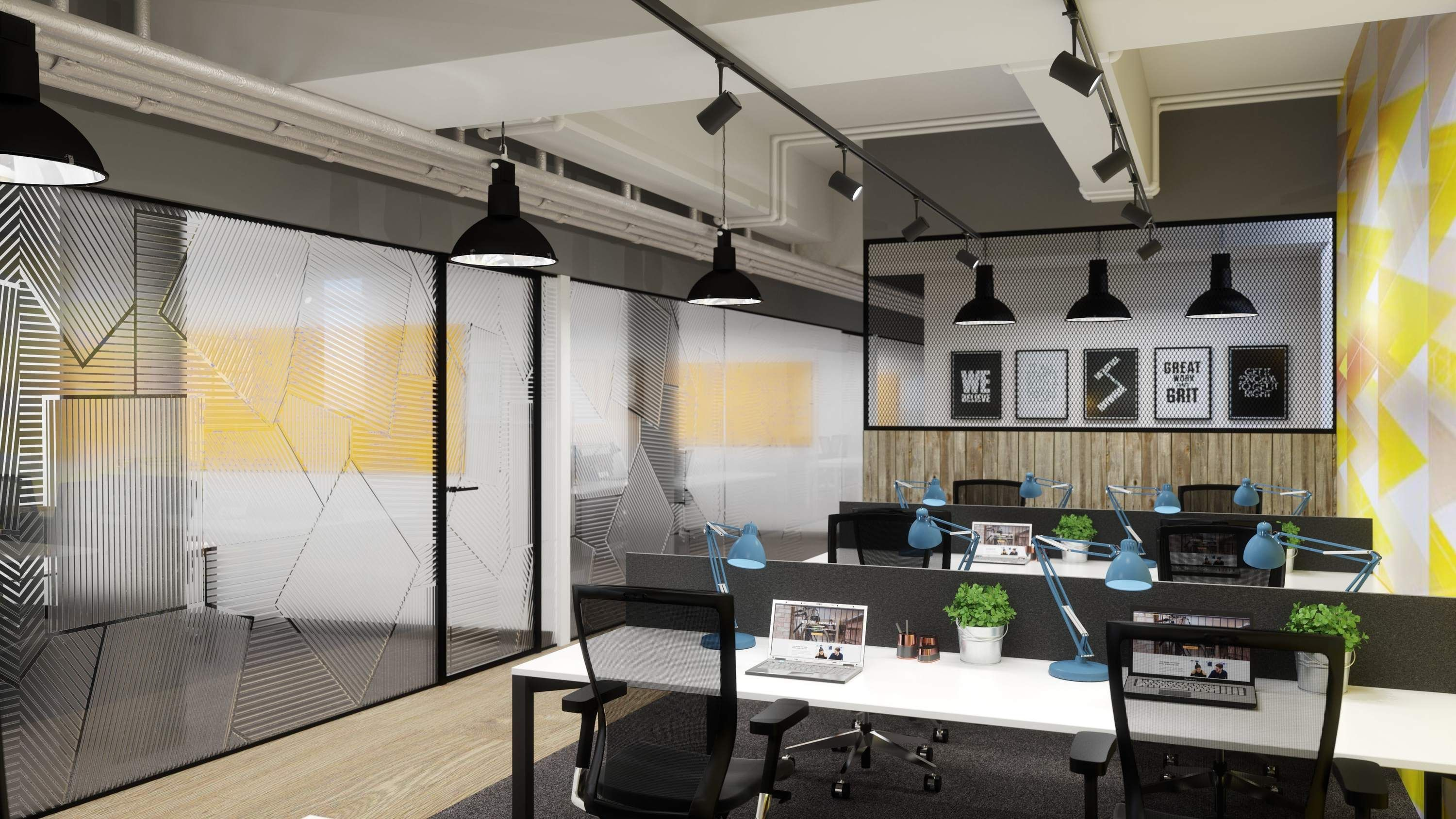 Four New Co Working Spaces In London Where Everyone Wants A Desk Cool Office Space Shared Office Shared Office Space