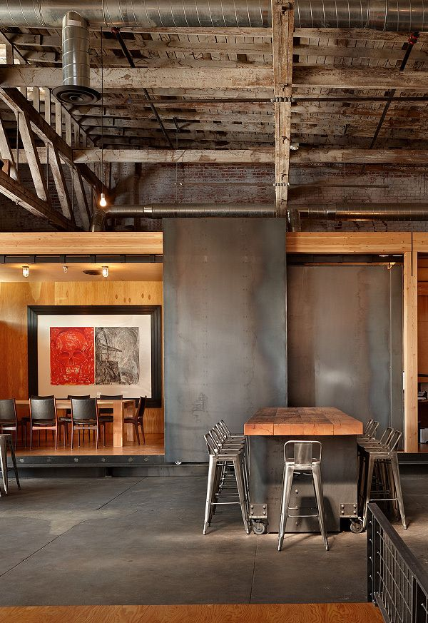 interiorslibrary:Charles Smith Wines Tasting Room by Olson Kundig Architects