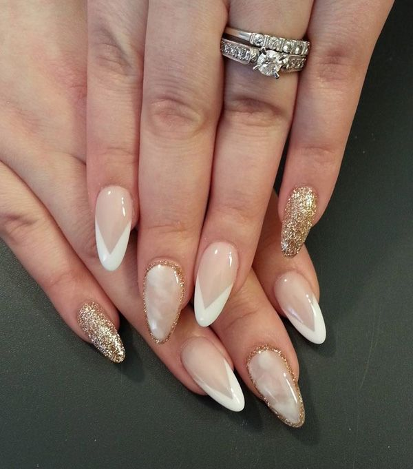 50+ Almond Nail Designs - 50+ Almond Nail Designs Almond Nails, Almonds And Almond Nails