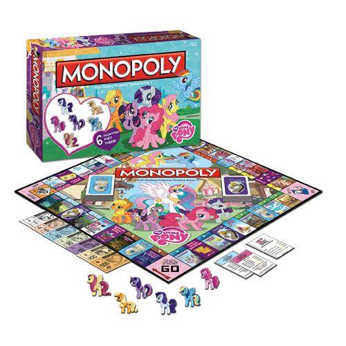 ZOMG!!!!!!!!!!!!!! My Little Pony Friendship is Magic Edition Monopoly jos joku tällaisen löytää niin Jei!
