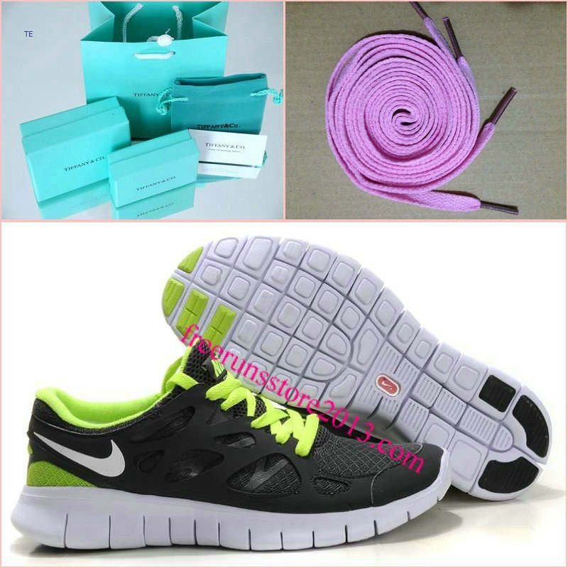detailed look 5c38d d604c Womens Nike Free Run 2 Gray Green Shoes - Click Image to Close