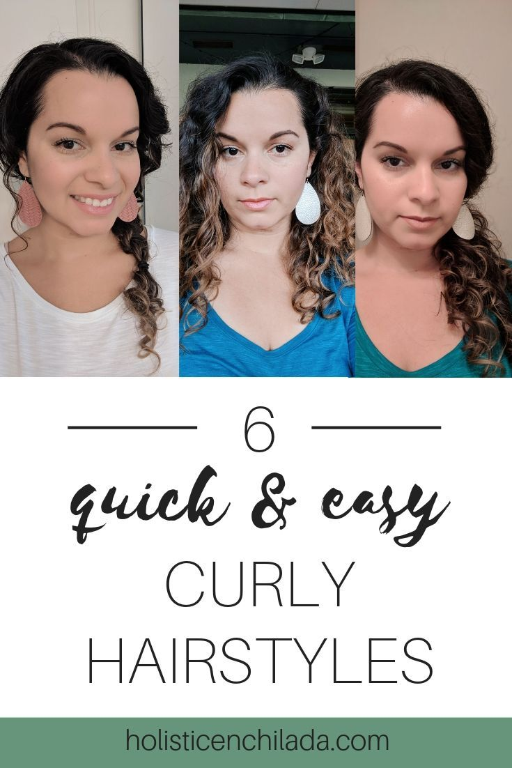 6 Quick And Easy Curly Hairstyles For When You Re Having A
