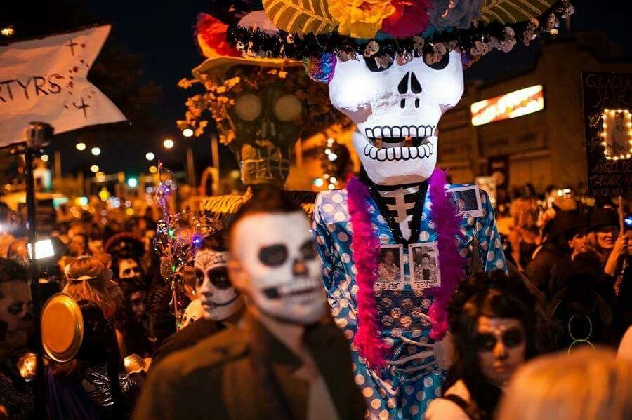Día De Los Muertos All Souls Halloween Wreath Artist