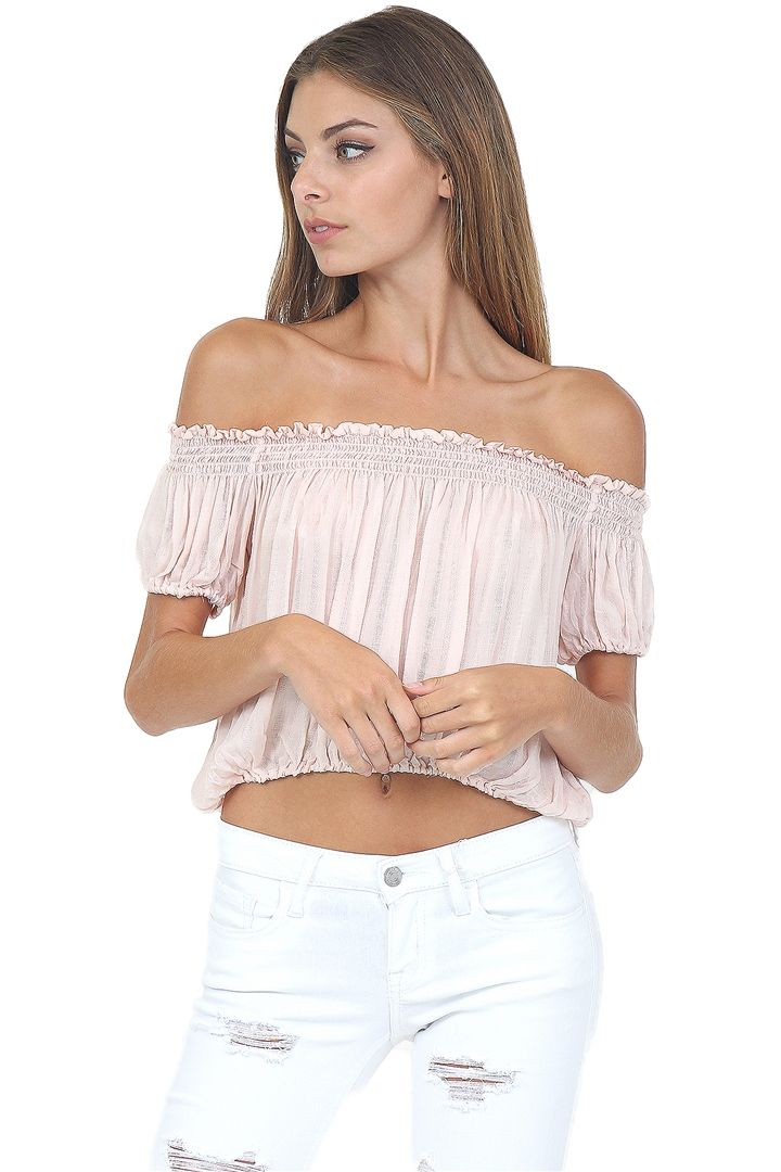 Pink & Brown Blotchy Tie-Dye Top at Blush Boutique Miami