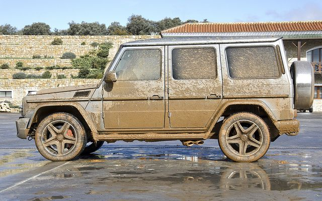 Mercedes G 65 AMG V12 biturbo - Covered in mud | Flickr - Photo Sharing!