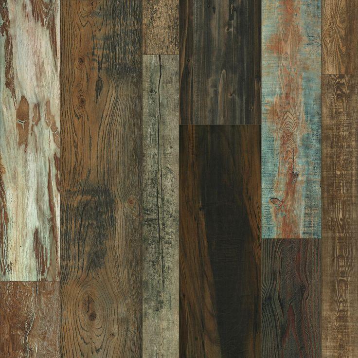 Master Design Idaho Barn Random Width Laminate Flooring Remodel