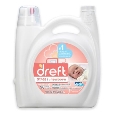 Dreft High Efficiency Liquid Detergent In 150 Ounces 96 Loads