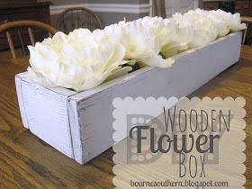 Bourne Southern: DIY Wooden Flower Box