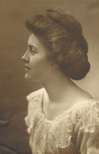 A Very Lovely Woman Edwardian Hairstyles Vintage