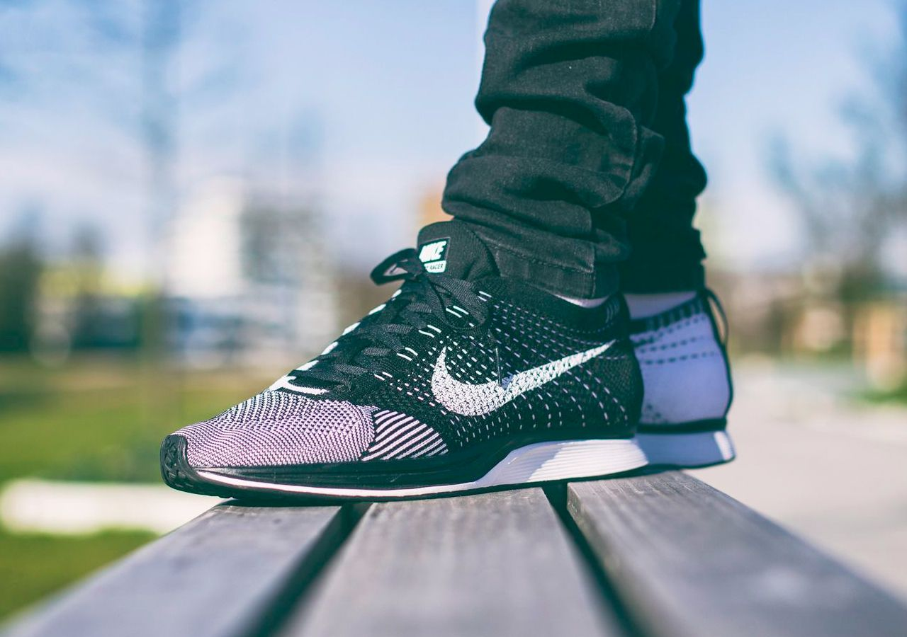 Nike Flyknit Racer 'Orca' (by the_knckl_life) – Sweetsoles – Sneakers, kicks