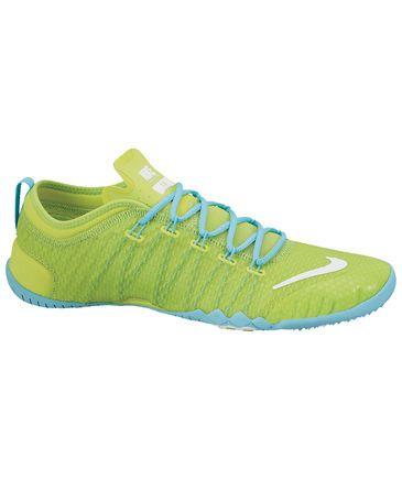 Nike Damen Trainingsschuh Free 1.0 Cross Bionic grün #nike