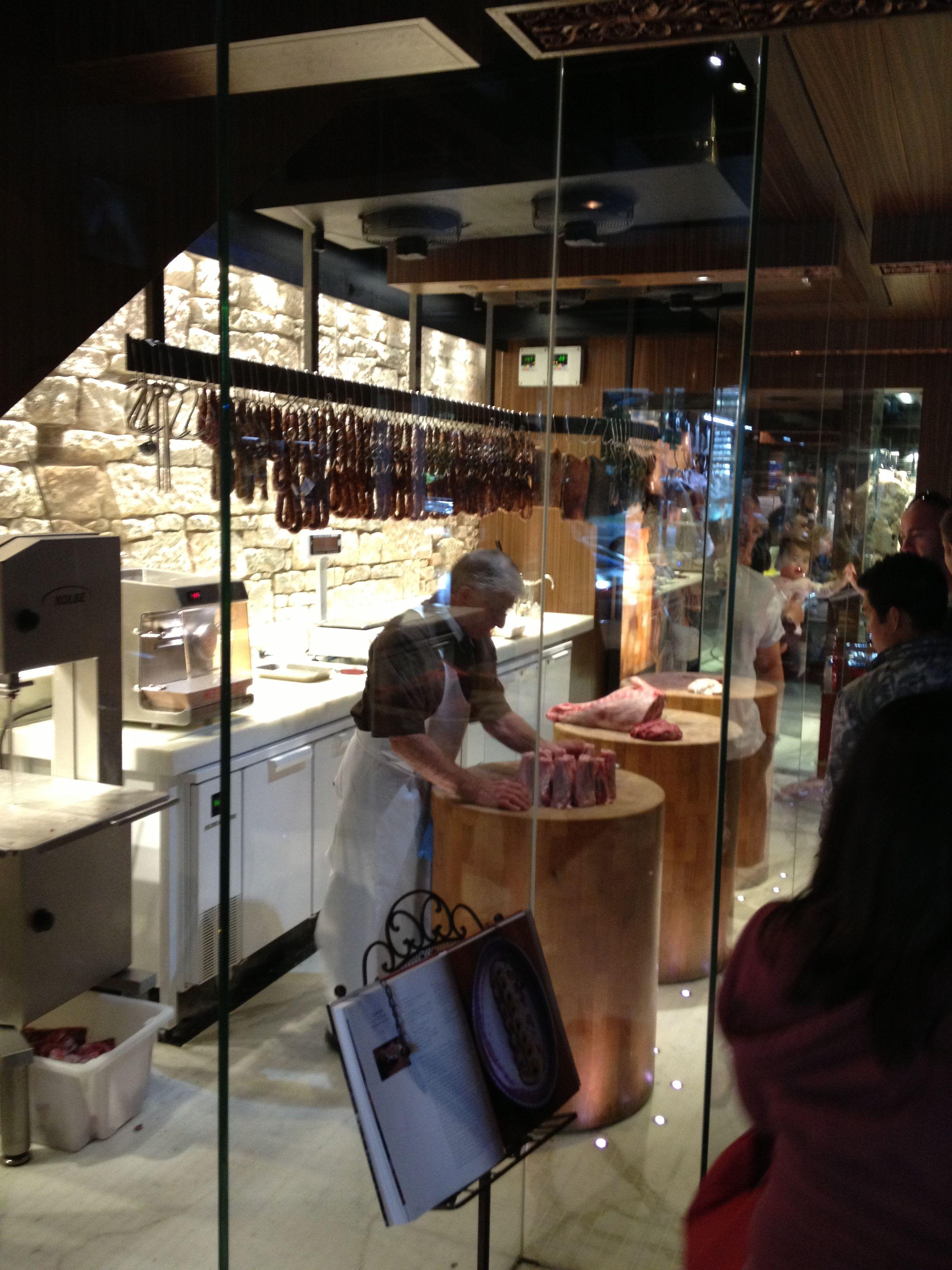 Kitchen Of Butchery : Victor Churchill, Sydney - take a butchers! Butchery in 2019 Carnicer?a, Charcuteria ...