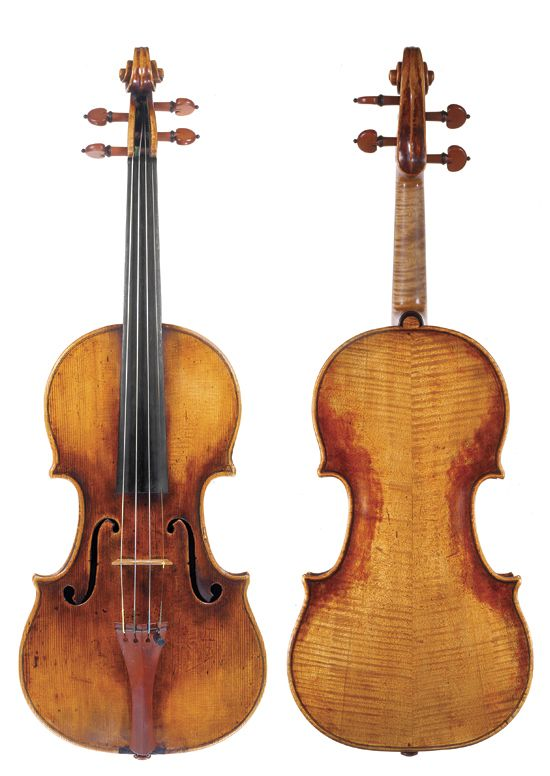Mollerc1725 Violin Cremona Stradivarius Violin