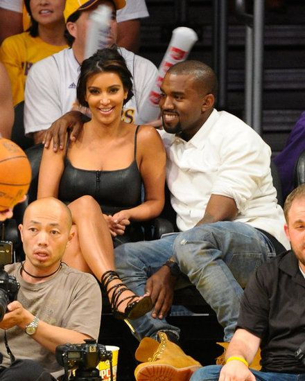 Kim Kardashian And Kanye West Sure Have A Lot Of Sweet Moments Together See Them All Kim Kardashian Boyfriends Kim And Kanye Kanye West And Kim