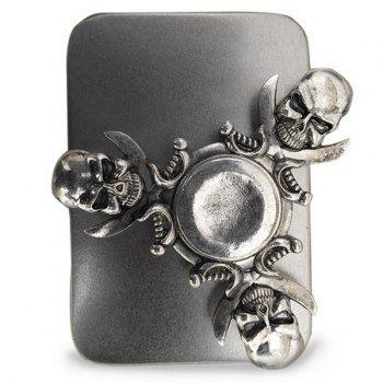 Finger Gyro Skull Fid Spinner Stress Relief Toy