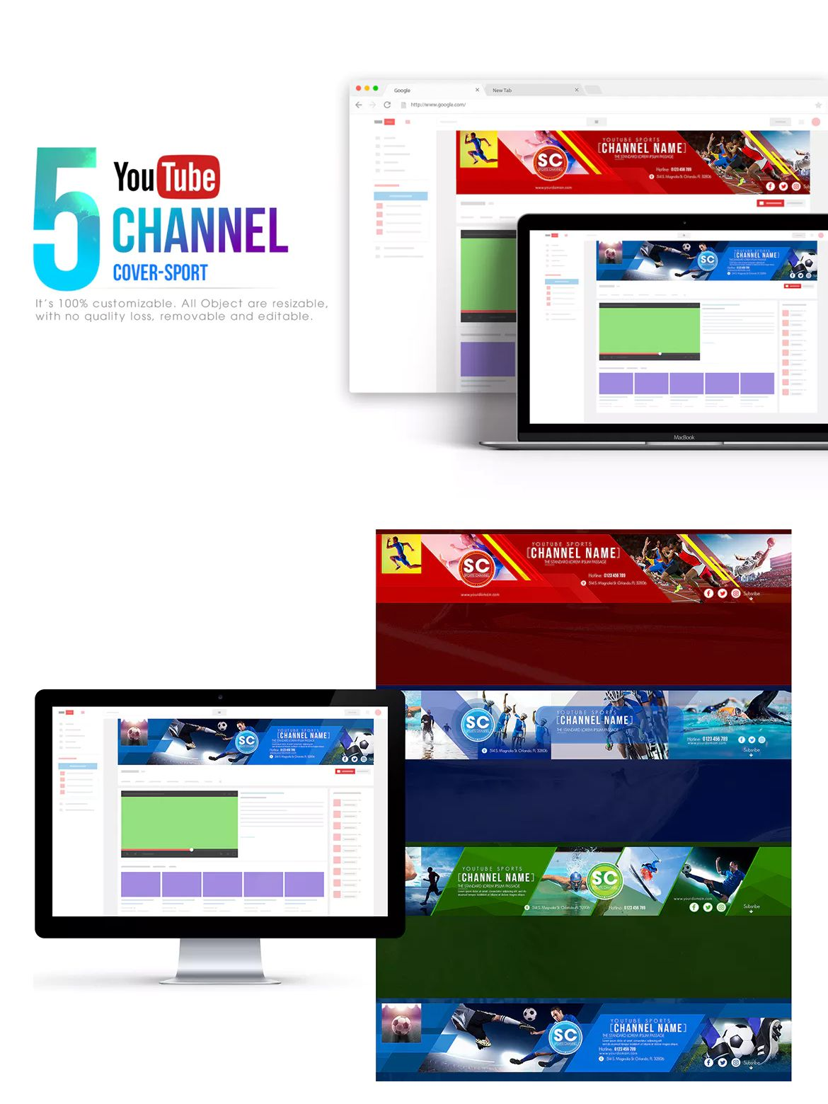 Sport channel youtube banner template psd youtube banner sport channel youtube banner template psd maxwellsz