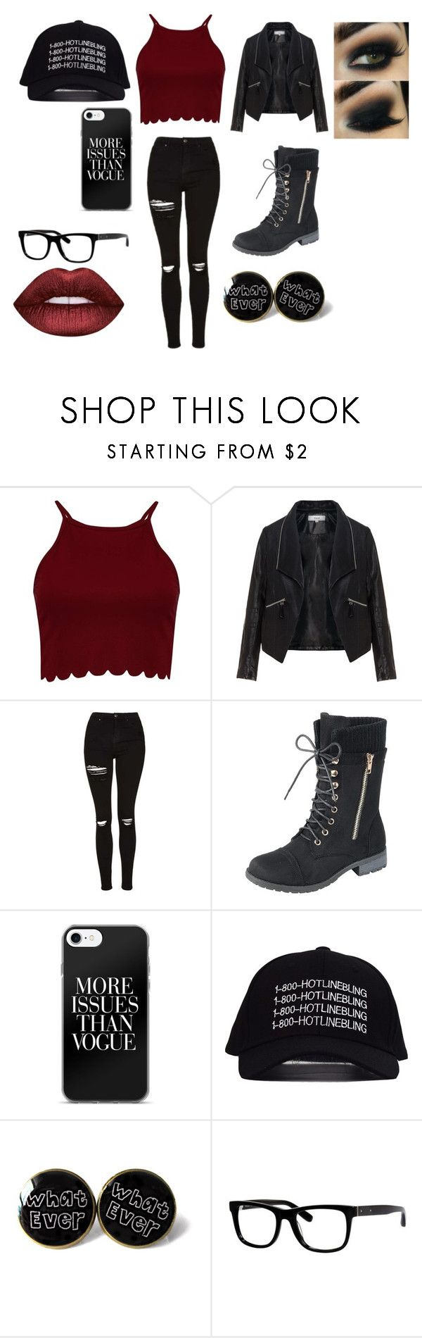 """bad girl""jaidenortiz on polyvore featuring boohoo"