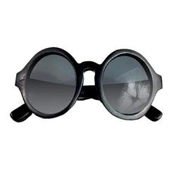 e2193a774a6d Round black Duwood wood glasses