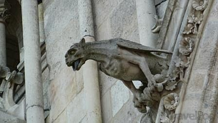 Cathedral Gargoyles | Beaumont-Hamel War Memorial by TravelPod Member Eurotrekker01 ...