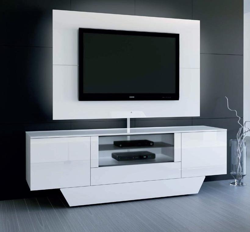 Tv möbel modern weiß  Schön tv möbel mit rückwand | Deutsche Deko | Pinterest | TV Möbel ...
