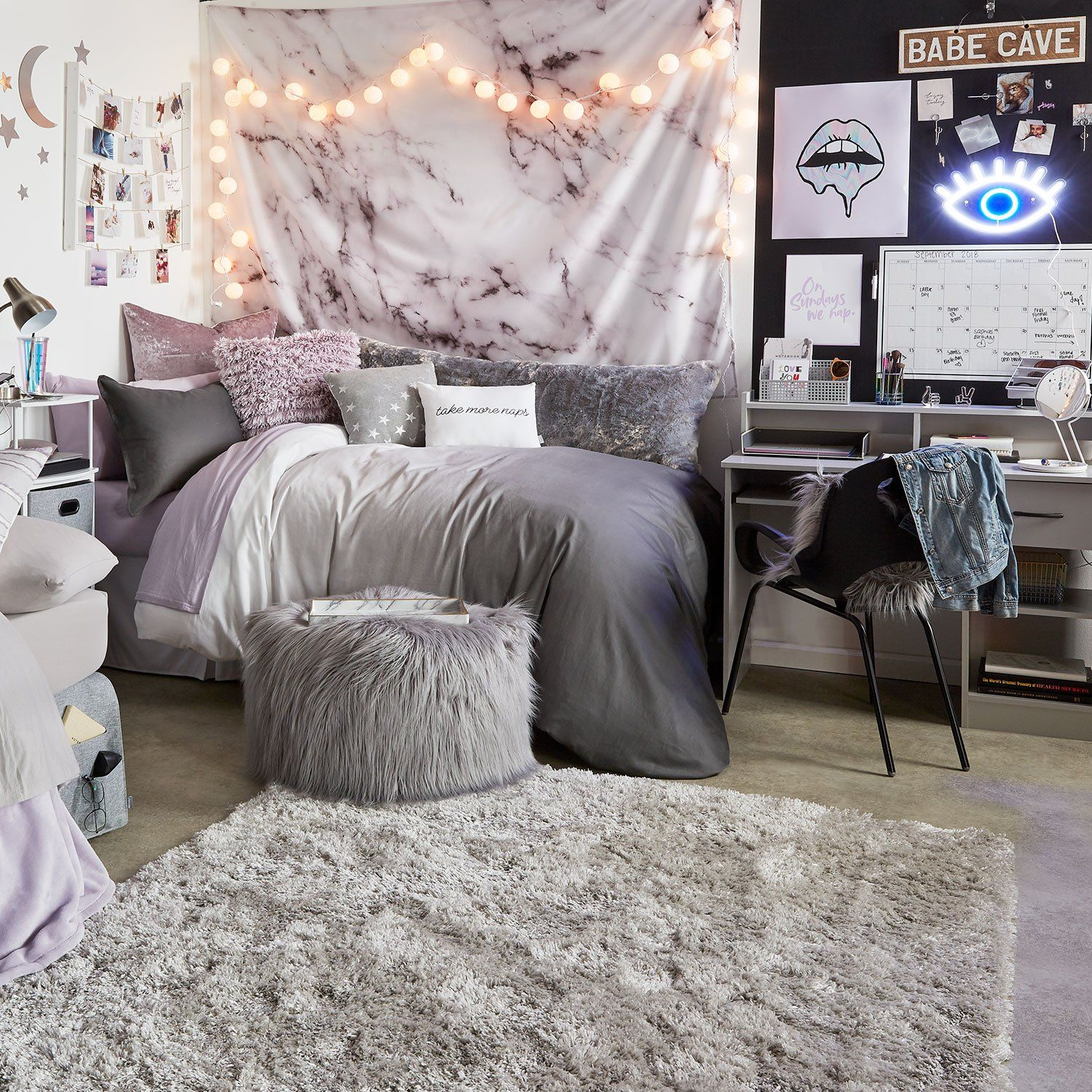 Grey Ombre Duvet Cover And Sham Set Twin Deco Chambre Tendance