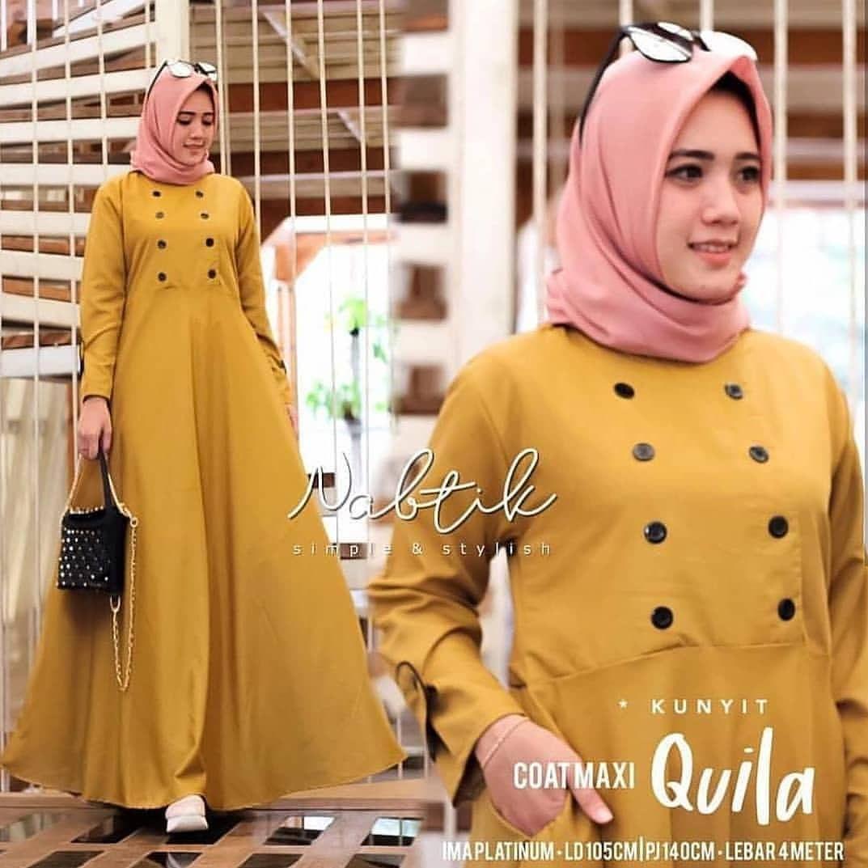 Baju Kuning Cocok Dengan Jilbab Warna Apa