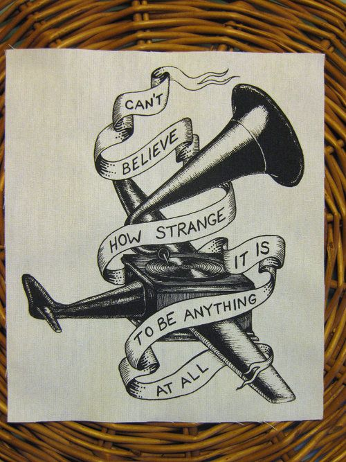 0aac9ac3a can't believe how strange it is to be anything at all | Neutral Milk Hotel