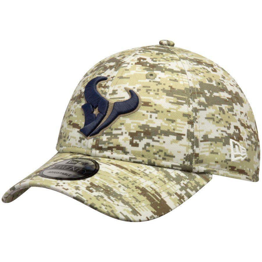 new product ba9ae 99c3a Men s Houston Texans New Era Camo Digi 9TWENTY Adjustable Hat, Your Price    24.99
