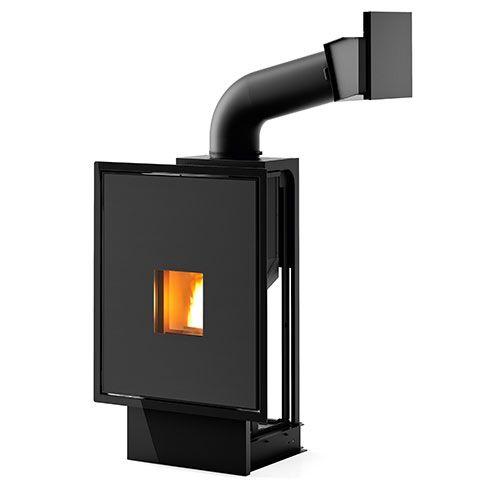 Pellet Fuelled Fireplace Vivo 85 Pellet Fuelled Fireplace Cheminee Granules Cheminee Foyer Ferme