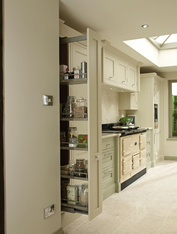 Store All Your Essentials In A Pull-Out Kessebohmer Larder