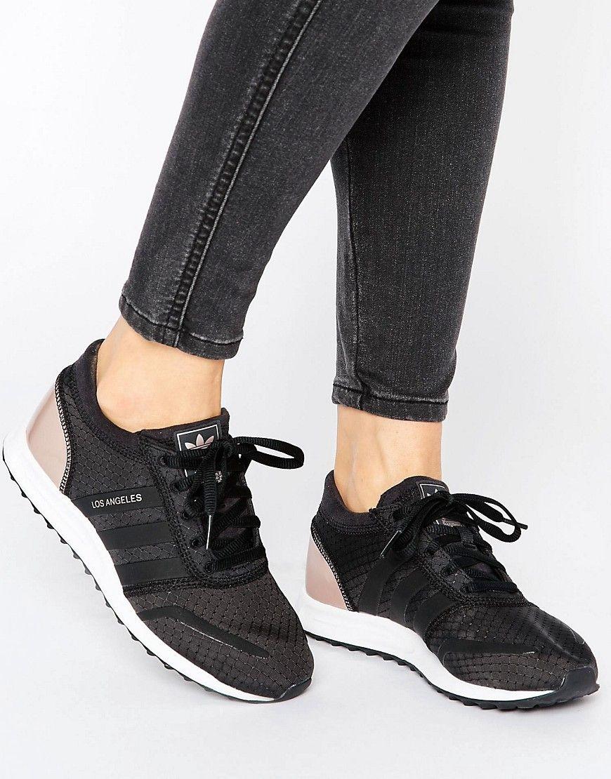 Asesorar Mal humor Prohibir  Buy it now. adidas Originals Black And Copper Los Angeles Trainers - Black.  Trainers by Adidas, Breathable tex… | Zapatillas deportivas, Zapatillas,  Zapatos de moda