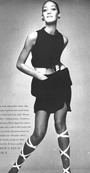 Photo Richard Avedon Model Marisa Berenson Hair Ara Gallant
