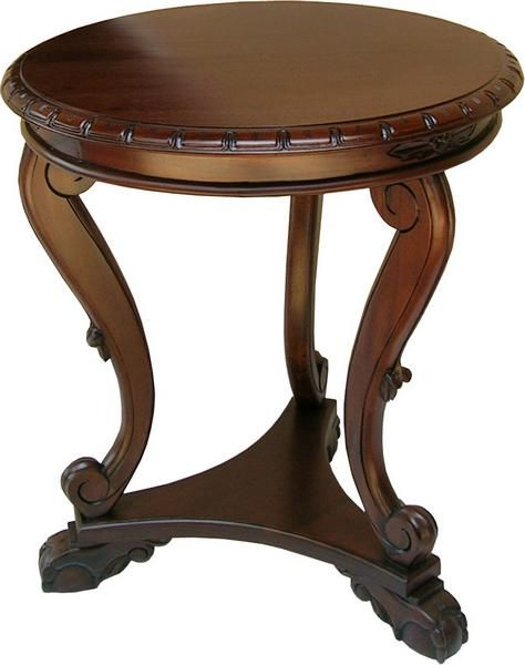 Regency Low Side Table T017 Side Table Side Table Wood Mahogany Furniture