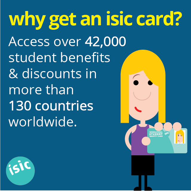 Why get an ISIC card? Access over 42,000 student benefits ...
