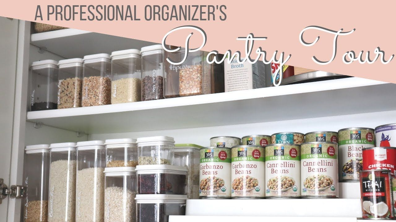 How I Organize My Upper Cabinet Pantry Storage Ideas Pantry Storage Upper Cabinets Organization
