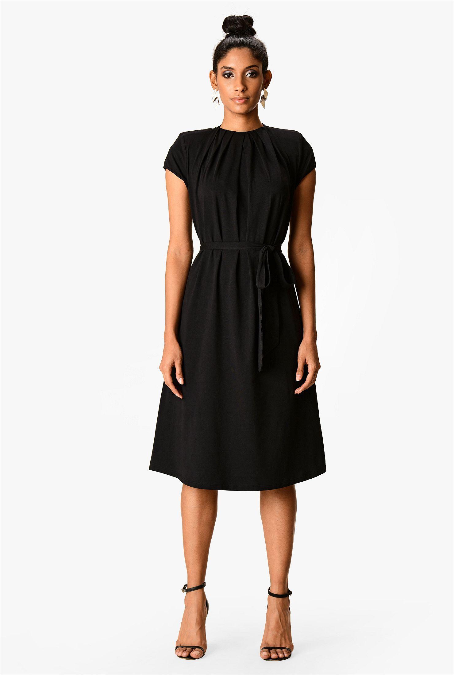 Cute Black Dress Simple Black Dress Knit Shift Dress Cheap Black Dress [ 2200 x 1480 Pixel ]