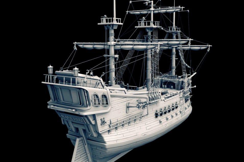 Famoso Anatomía De Un Barco Pirata Bandera - Imágenes de Anatomía ...