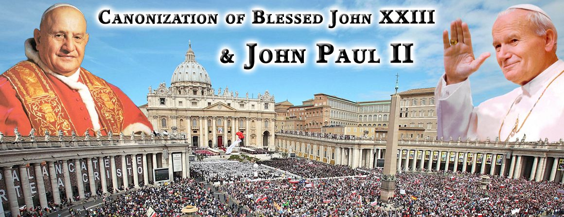 Incredible Deal to Rome for the The Canonization of the ...